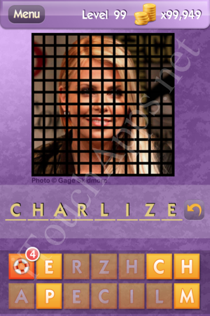 Who's the Celeb Level 99 Answer