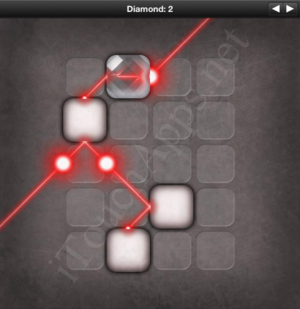 Lazors Diamond 2 Solution