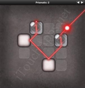 Lazors Prismatic 2 Solution