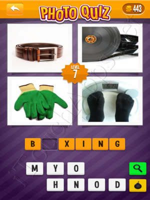 Photo Quiz Sports Pack Level 7 Solution