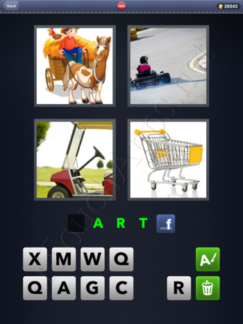 4 Pics 1 Word Level 1002 Solution