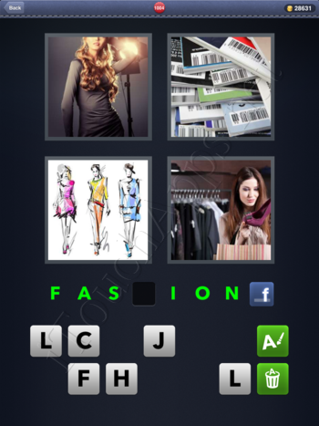4 Pics 1 Word Level 1004 Solution