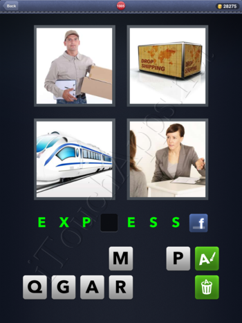 4 Pics 1 Word Level 1005 Solution