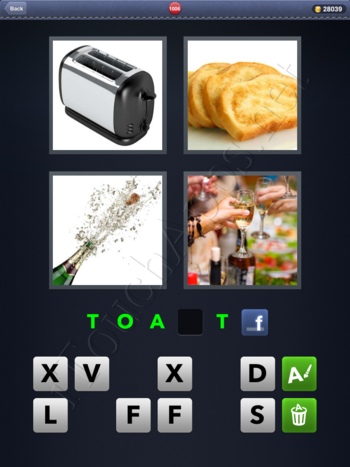 4 Pics 1 Word Level 1006 Solution