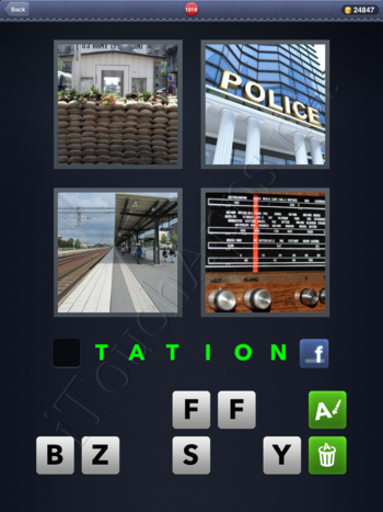 4 Pics 1 Word Level 1018 Solution