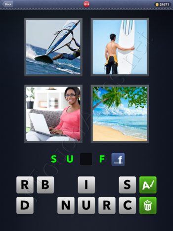 4 Pics 1 Word Level 1019 Solution