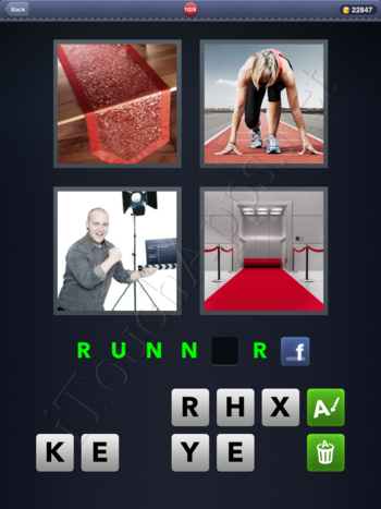 4 Pics 1 Word Level 1028 Solution