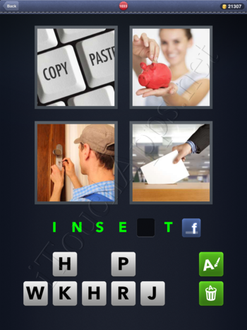 4 Pics 1 Word Level 1033 Solution