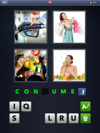4 Pics 1 Word Level 1039 Solution