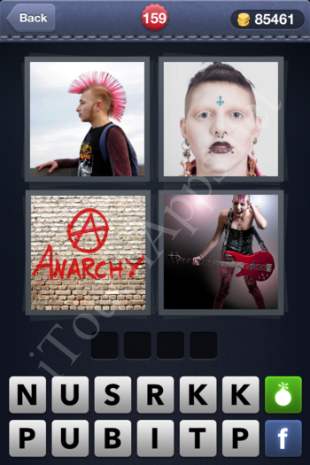 4 Pics 1 Word Level 159 Solution