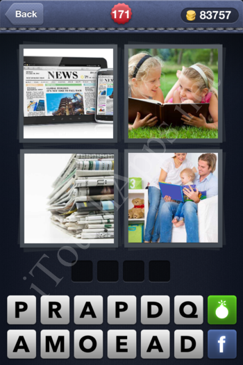 4 Pics 1 Word Level 171 Solution