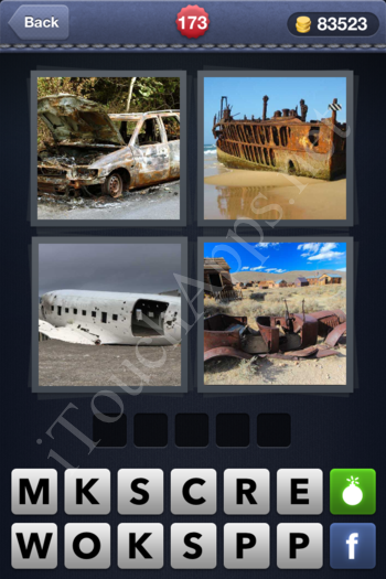 4 Pics 1 Word Level 173 Solution