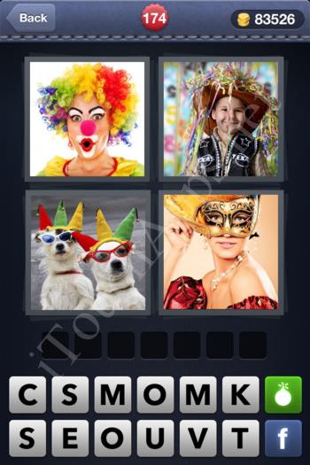 4 Pics 1 Word Level 174 Solution