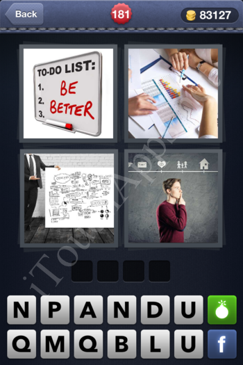 4 Pics 1 Word Level 181 Solution
