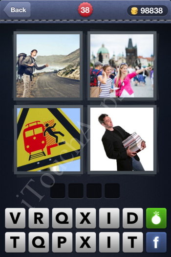 4 Pics 1 Word Level 38 Solution