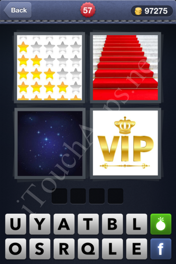 4 Pics 1 Word Level 57 Solution