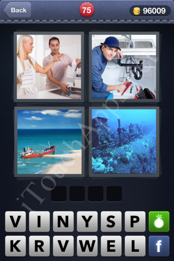4 Pics 1 Word Level 75 Solution