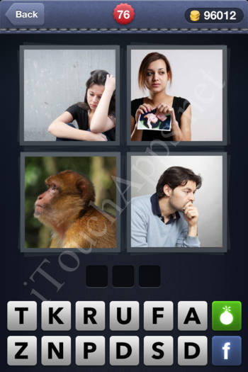 4 Pics 1 Word Level 76 Solution