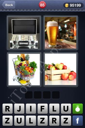4 Pics 1 Word Level 85 Solution