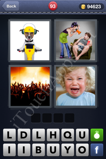 4 Pics 1 Word Level 93 Solution