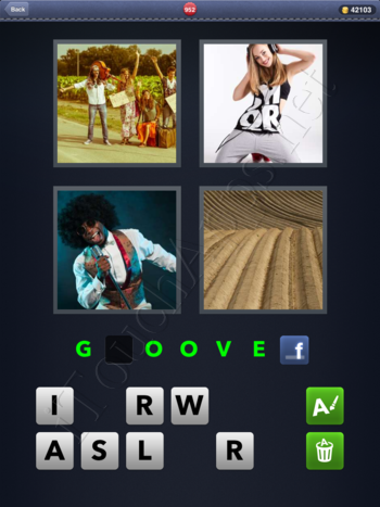 4 Pics 1 Word Level 952 Solution