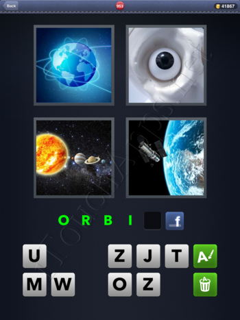 4 Pics 1 Word Level 953 Solution