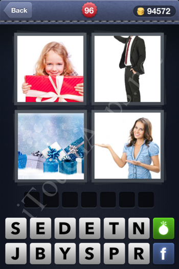 4 Pics 1 Word Level 96 Solution