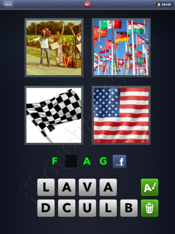 4 Pics 1 Word Level 961 Solution