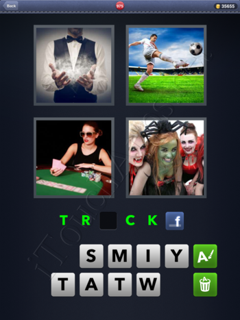 4 Pics 1 Word Level 975 Solution