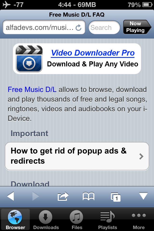 Free Music Download Pro ReviewiTouchApps net – #1 iPhone