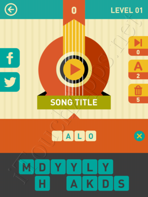 Icon Pop Song Level Level 1 Pic 0 Answer