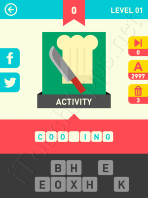 Icon Pop Word Level Level 1 Pic 0 Answer