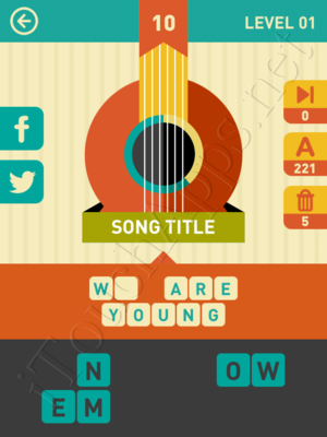 Icon Pop Song Level Level 1 Pic 10 Answer