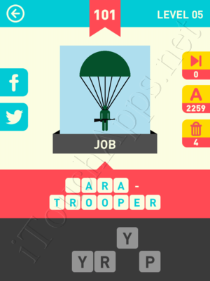 Icon Pop Word Level Level 5 Pic 101 Answer