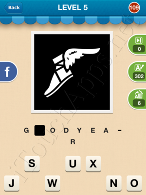 Hi Guess the Brand Level Level 5 Pic 109 Answer