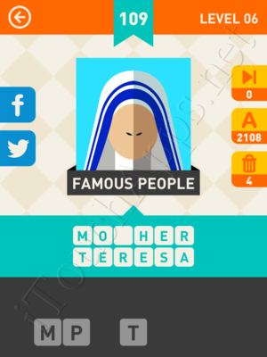 Icon Pop Mania Level Level 6 Pic 109 Answer