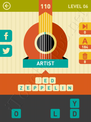 Icon Pop Song Level Level 6 Pic 110 Answer
