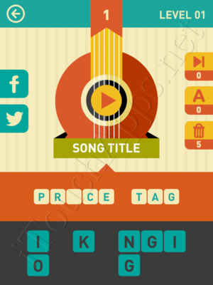 Icon Pop Song Game Answers / Solutions
