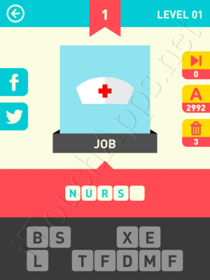 Icon Pop Word Game Answers / Solutions
