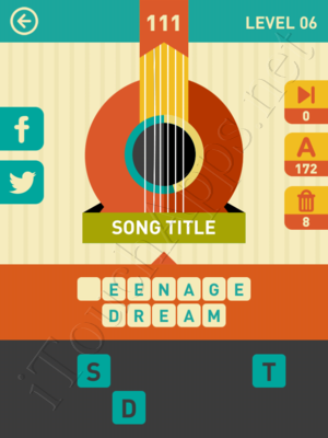 Icon Pop Song Level Level 6 Pic 111 Answer