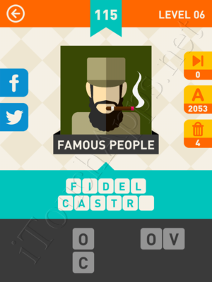 Icon Pop Mania Level Level 6 Pic 115 Answer