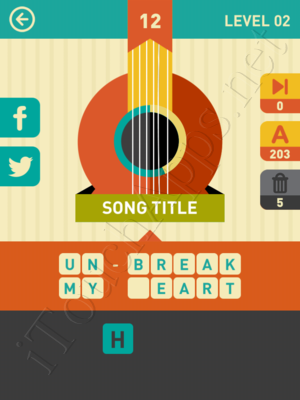 Icon Pop Song Level Level 2 Pic 12 Answer