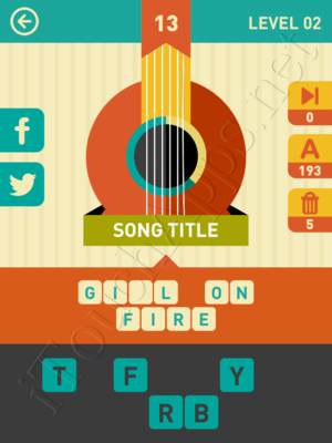 Icon Pop Song Level Level 2 Pic 13 Answer
