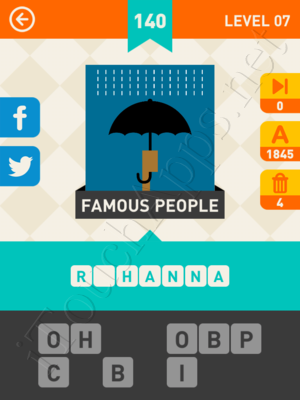 Icon Pop Mania Level Level 7 Pic 140 Answer