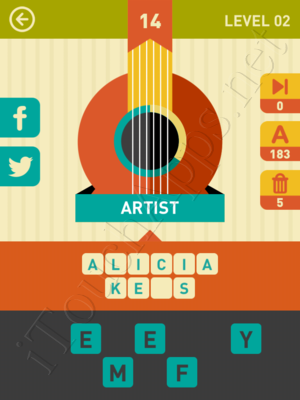 Icon Pop Song Level Level 2 Pic 14 Answer