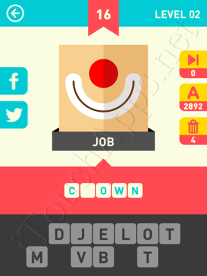 Icon Pop Word Level Level 2 Pic 16 Answer