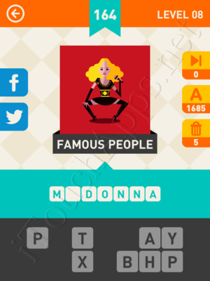 Icon Pop Mania Level Level 8 Pic 164 Answer