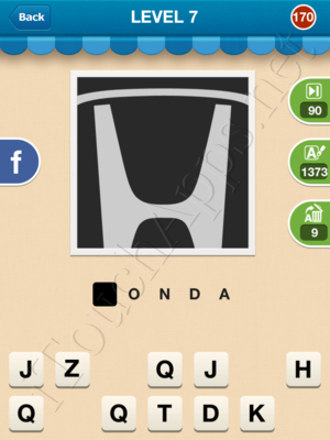 Hi Guess the Brand Level Level 7 Pic 170 Answer