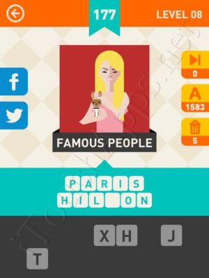 Icon Pop Mania Level Level 8 Pic 177 Answer