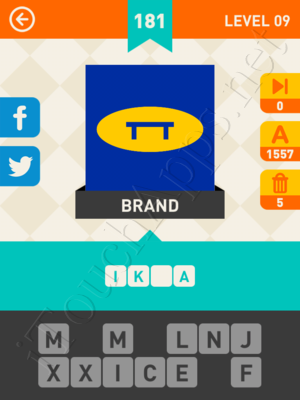 Icon Pop Mania Level Level 9 Pic 181 Answer